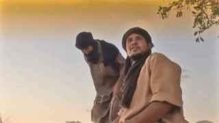 Imagen del vídeo difundido por los yihadistas.