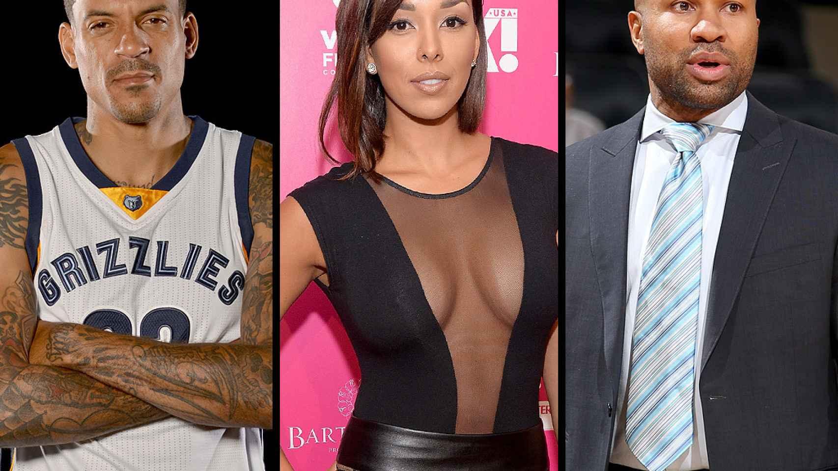 El triángulo amoroso de la NBA