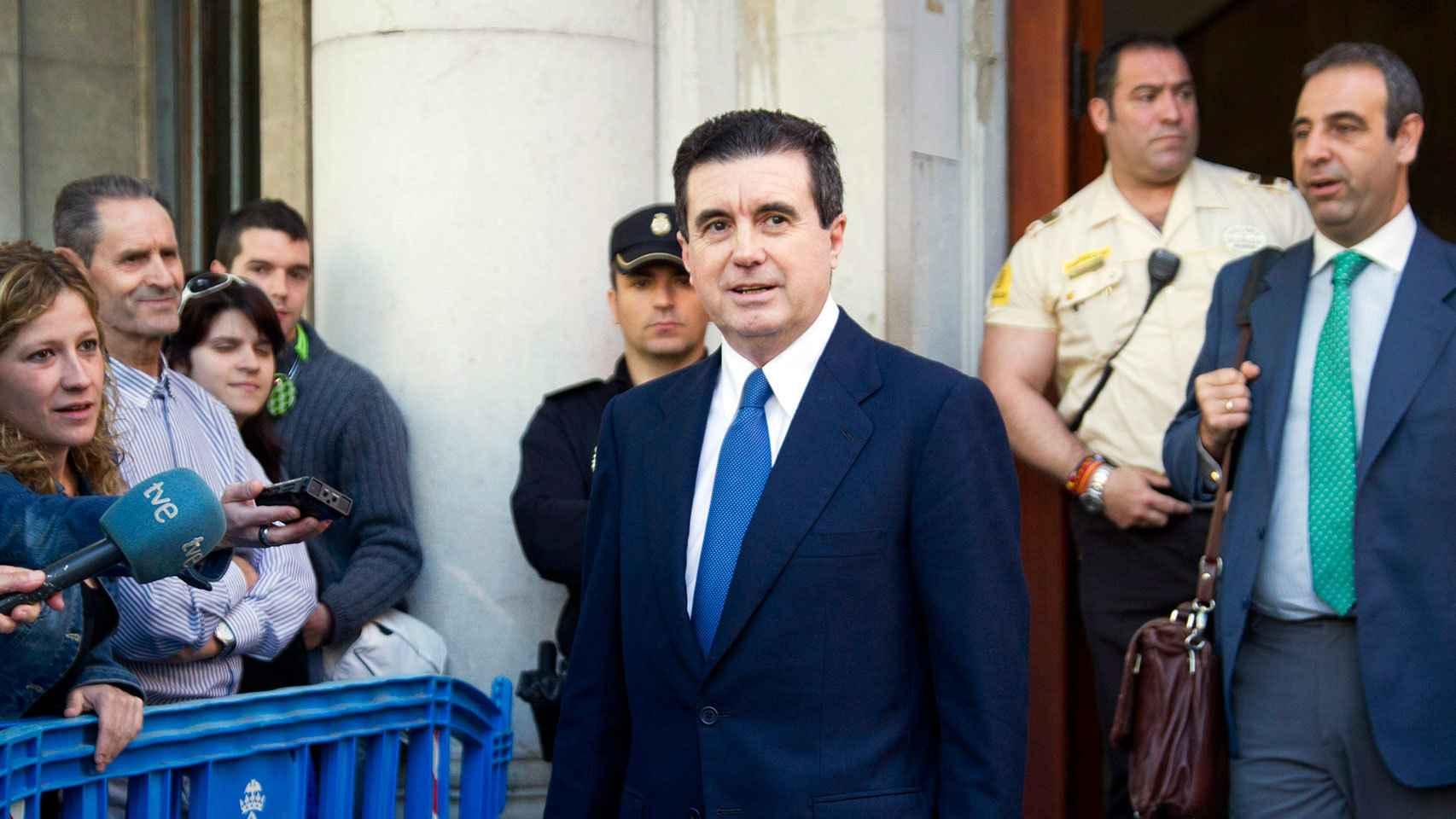 Jaume Matas durante el juicio por el caso Palma Arena en 2012.