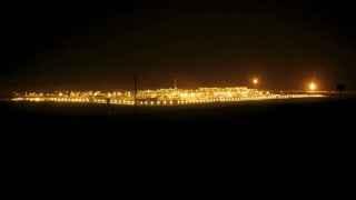 Campo de extracción de crudo en Arabia Saudí.
