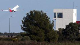 Primer vuelo en el aeropuerto de Castellón