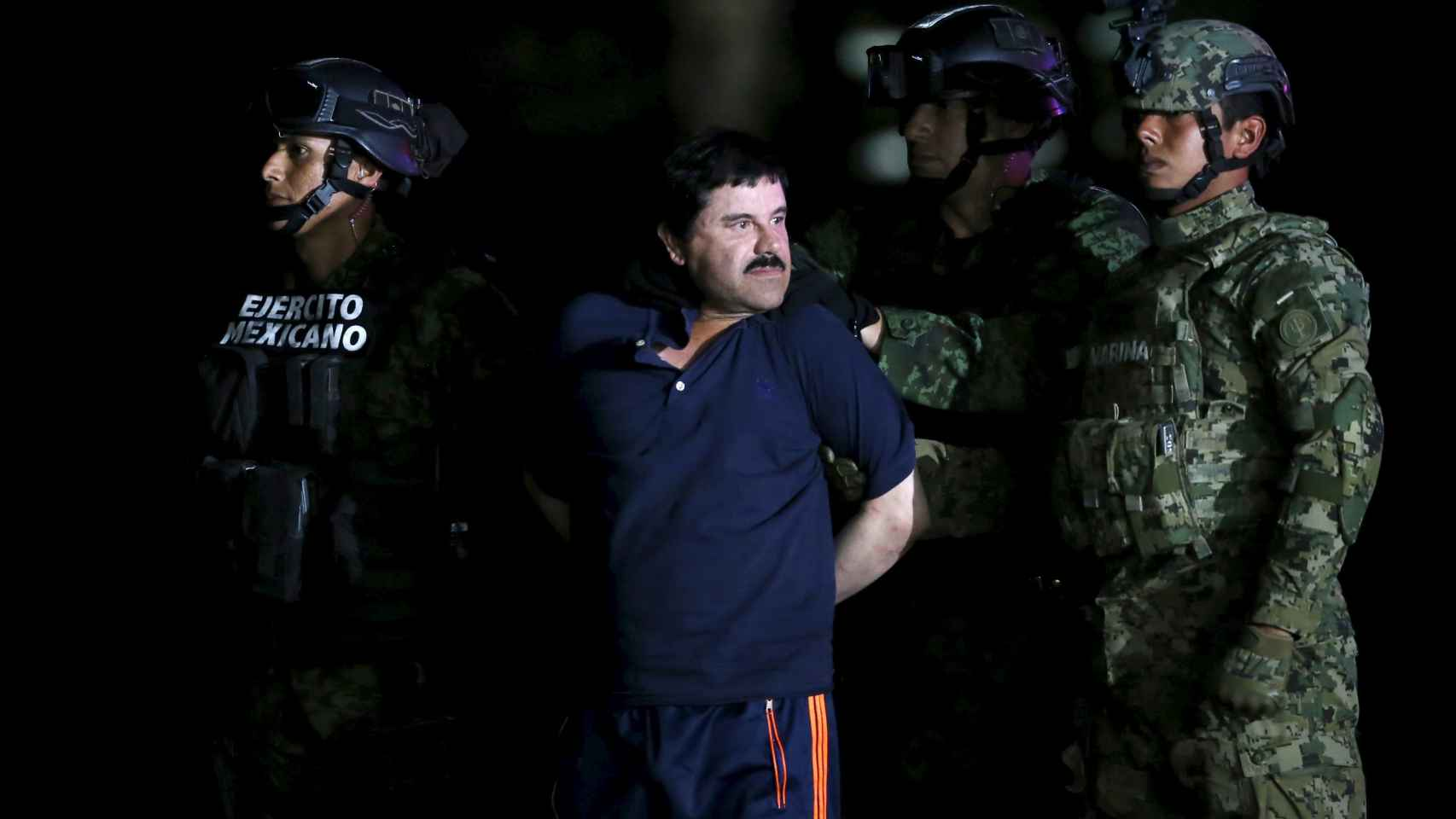 El Chapo Guzmán, en una imagen difundida por medios mexicanos.