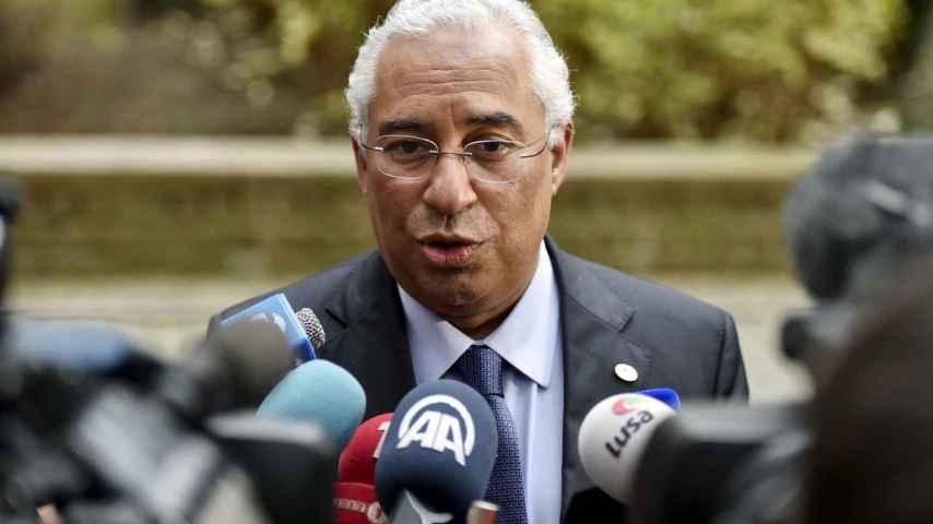 El primer ministro de Portugal Antonio Costa en Bruselas/Eric Vidal/Reuters