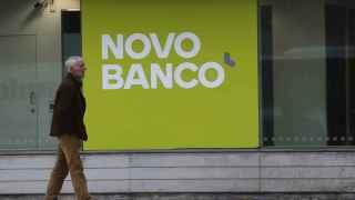 Una sucursal de Novo Banco en Lisboa