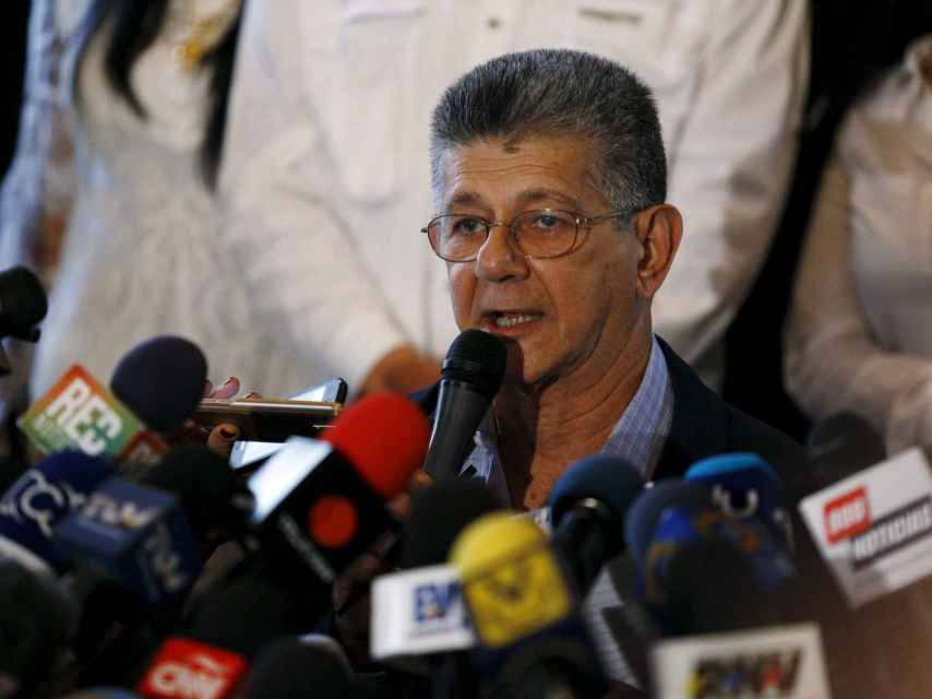 Henry Ramos Allup, presidente de la Asamblea Nacional.