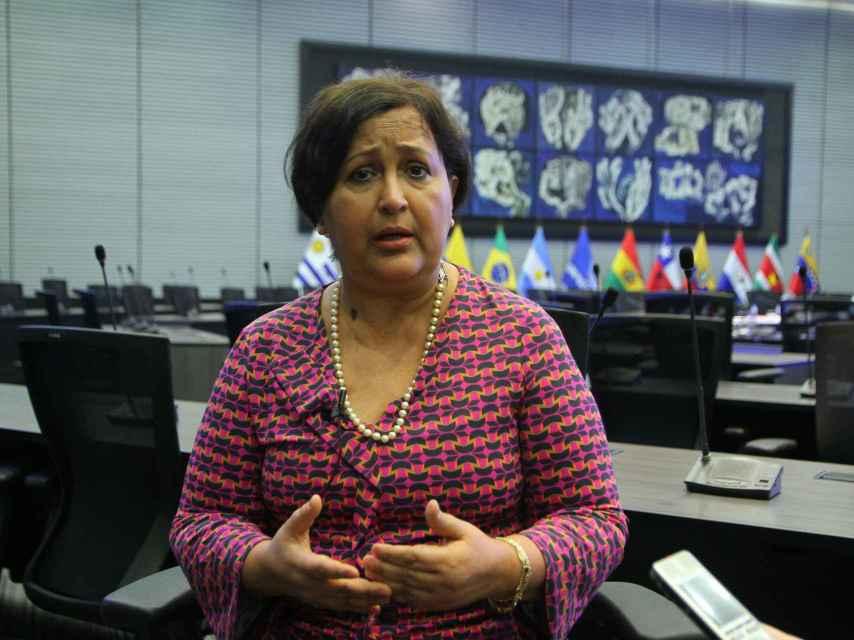 Tibisay Lucena, presidenta del CNE.