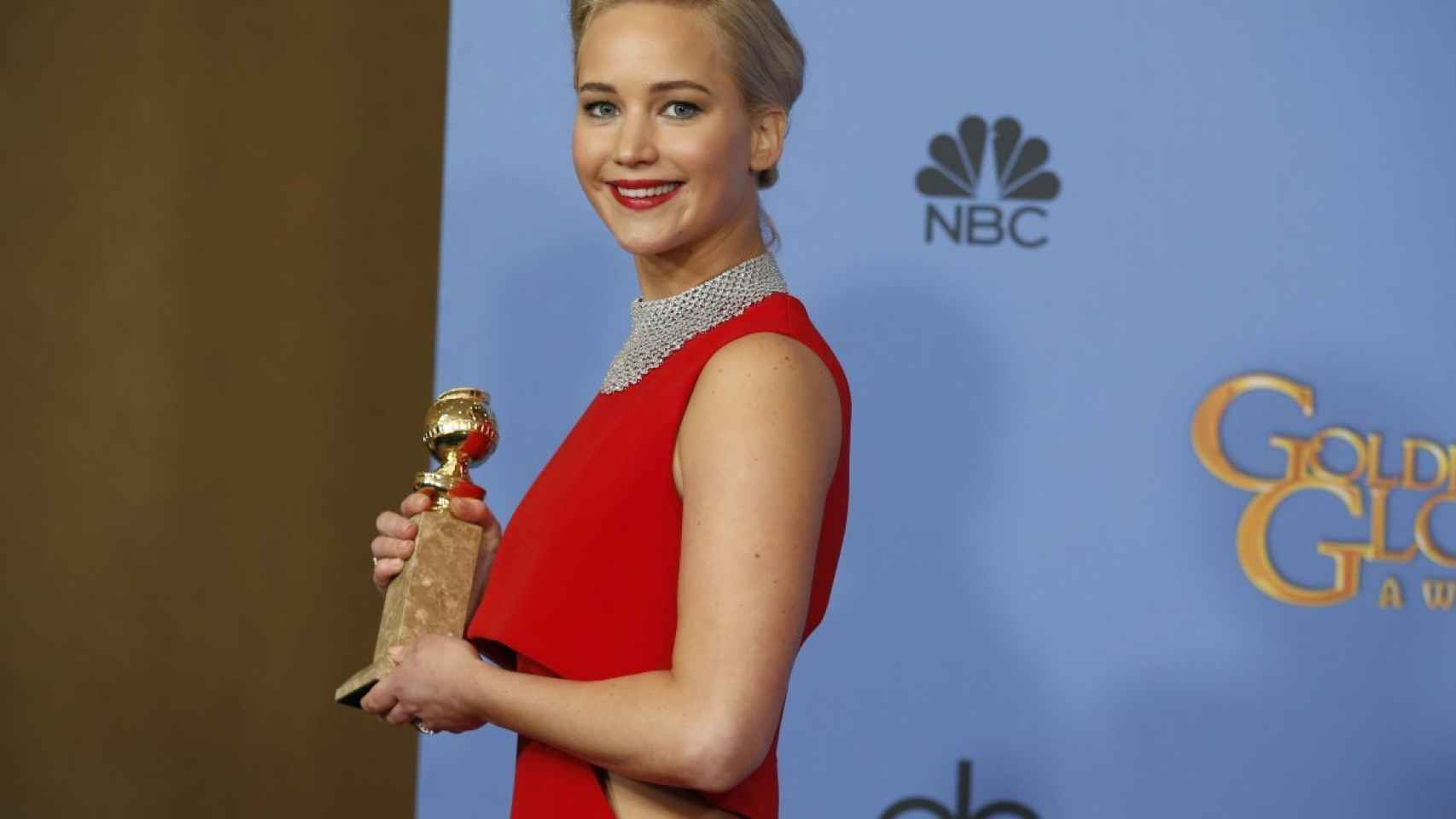 Jennifer Lawrence, ganadora por 'Joy'.