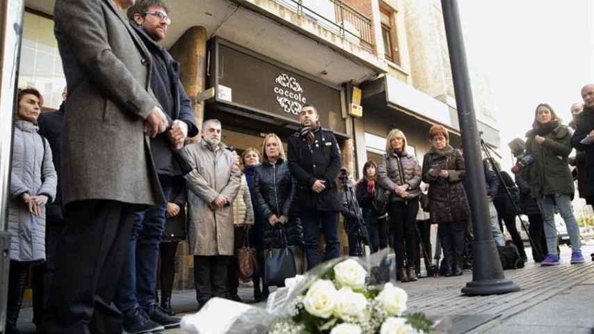El homenaje este lunes en Vitoria a Jesús Velasco, asesinado por ETA en 1980, sin la presencia de sus familiares.