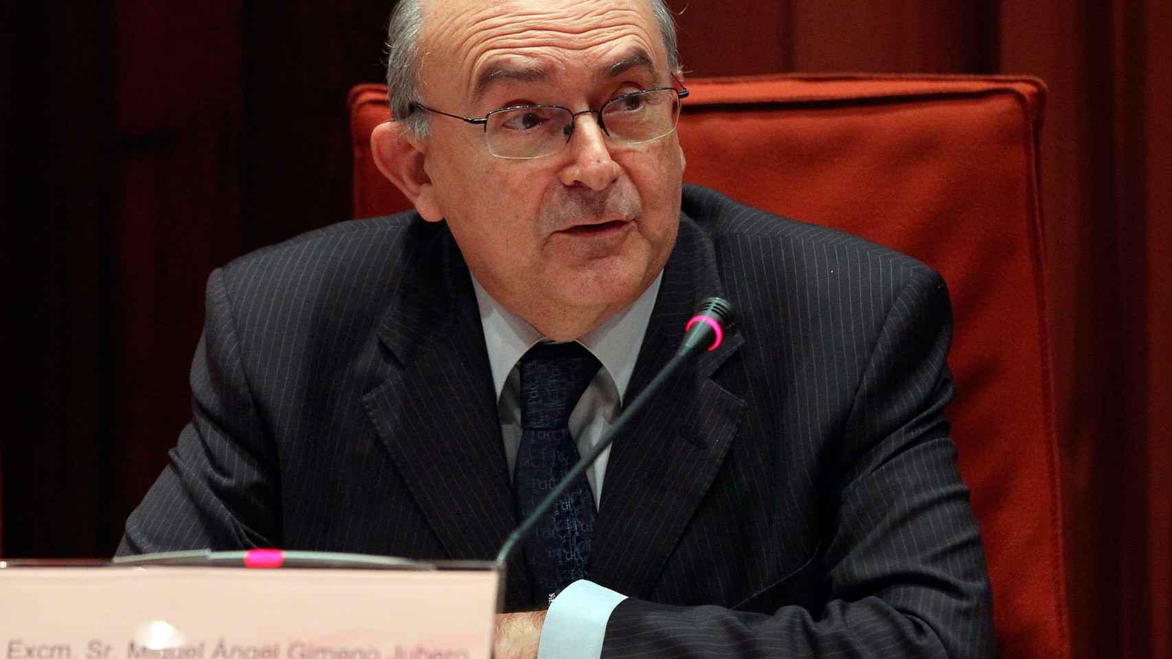 Miguel Ángel Gimeno, actual presidente del tribunal catalán.