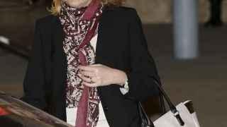 La Infanta Cristina de Borbón, a la salida del juicio Nóos.