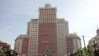 El edificio España.