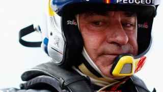 Carlos Sainz, en el Rally Dakar.