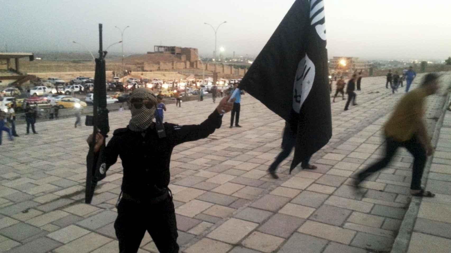 Combatiente de Estado Islámico.
