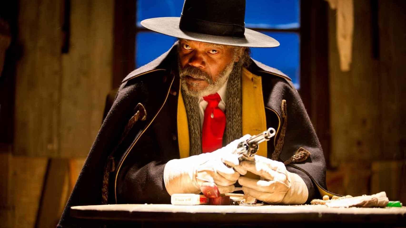 Samuel L. Jackson, en Los odiosos ocho