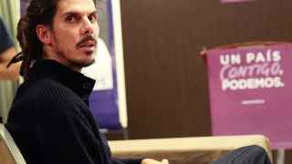 El diputado de Podemos Alberto Rodríguez.