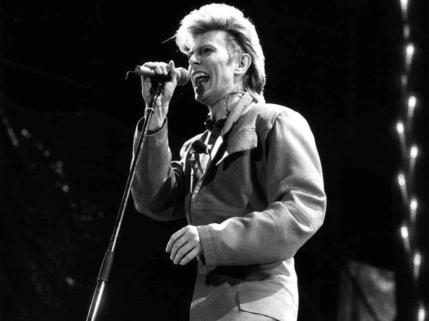 El cantante, en Berlín en junio de 1987.