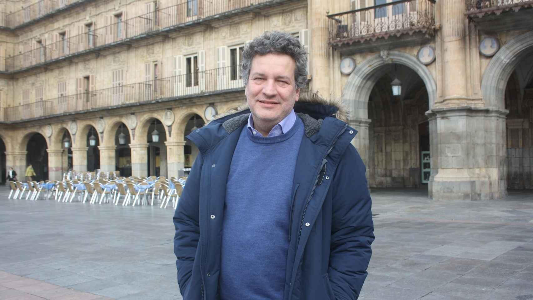 El científico José Ramón Knaster.
