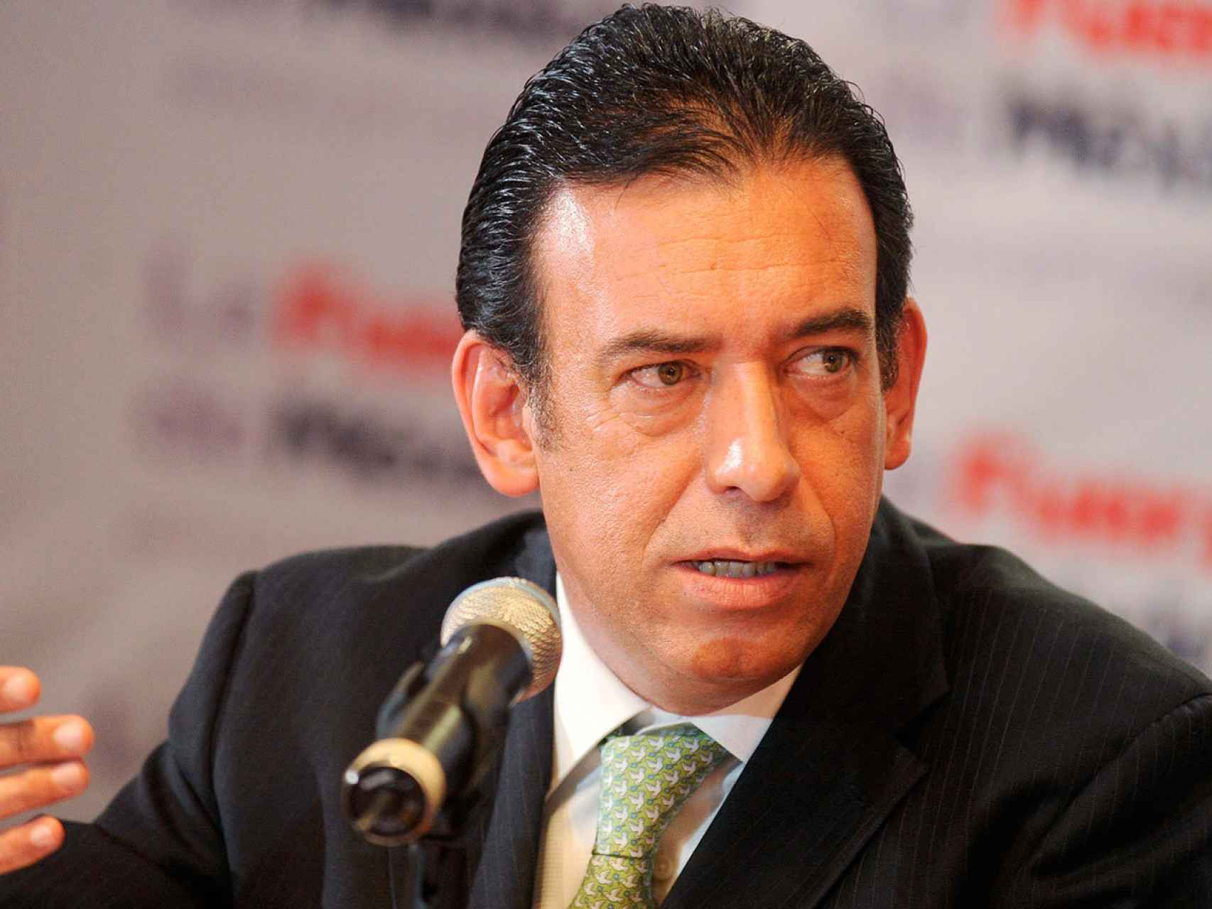 El expresidente del PRI, Humberto Moreira.