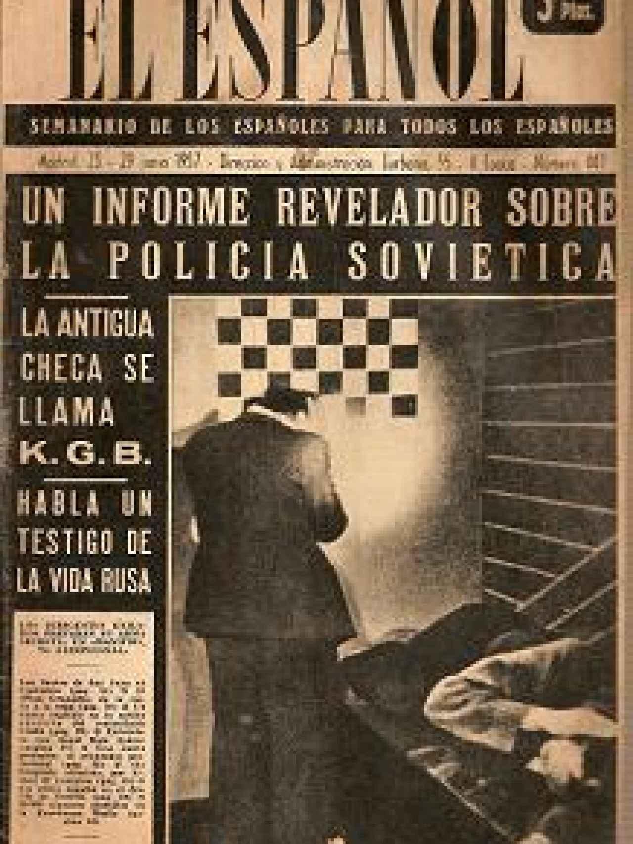 El Español el 23 de junio de 1957