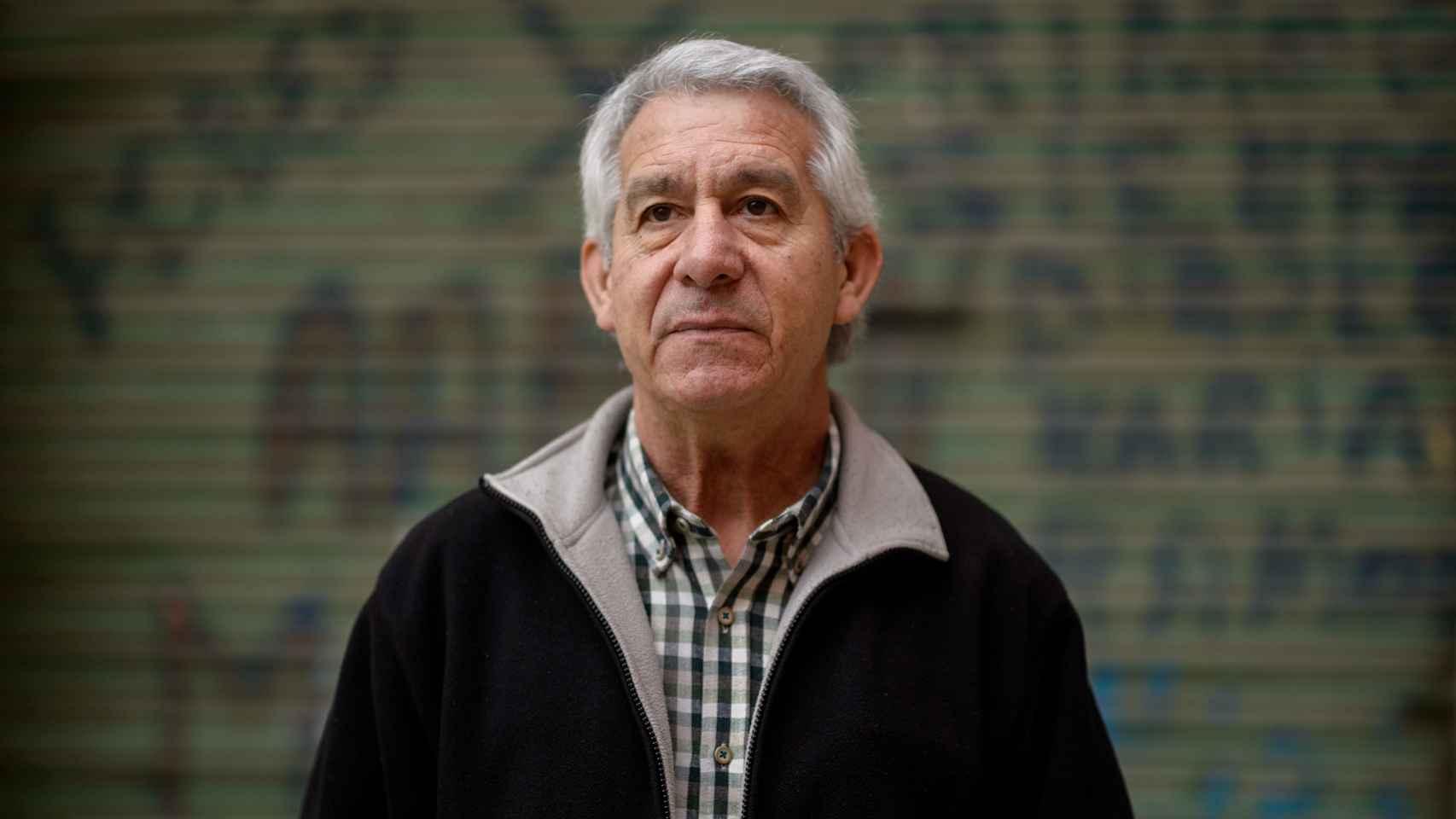 Manolo Rodrigo, en paro a los 58 años. / Dani Pozo
