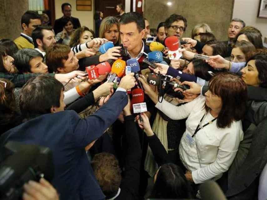 El secretario general del PSOE, Pedro Sánchez/Mariscal/EFE