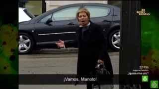 La famosa imagen de Celia Villalobos abroncando a su chófer