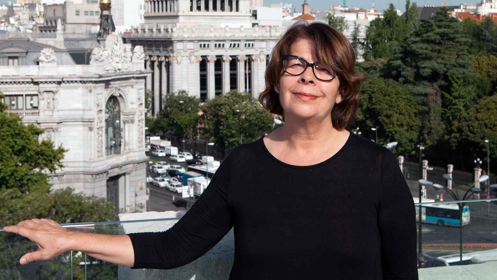 Inés Sabanés, delegada del Área de Medio Ambiente del Ayuntamiento de Madrid.