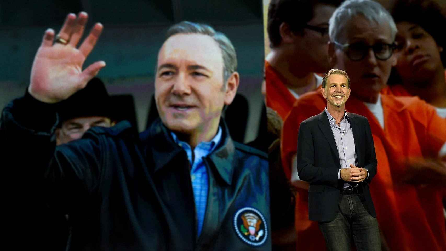 Reed Hastings, CEO de Netflix, que aterrizó en España en octubre.