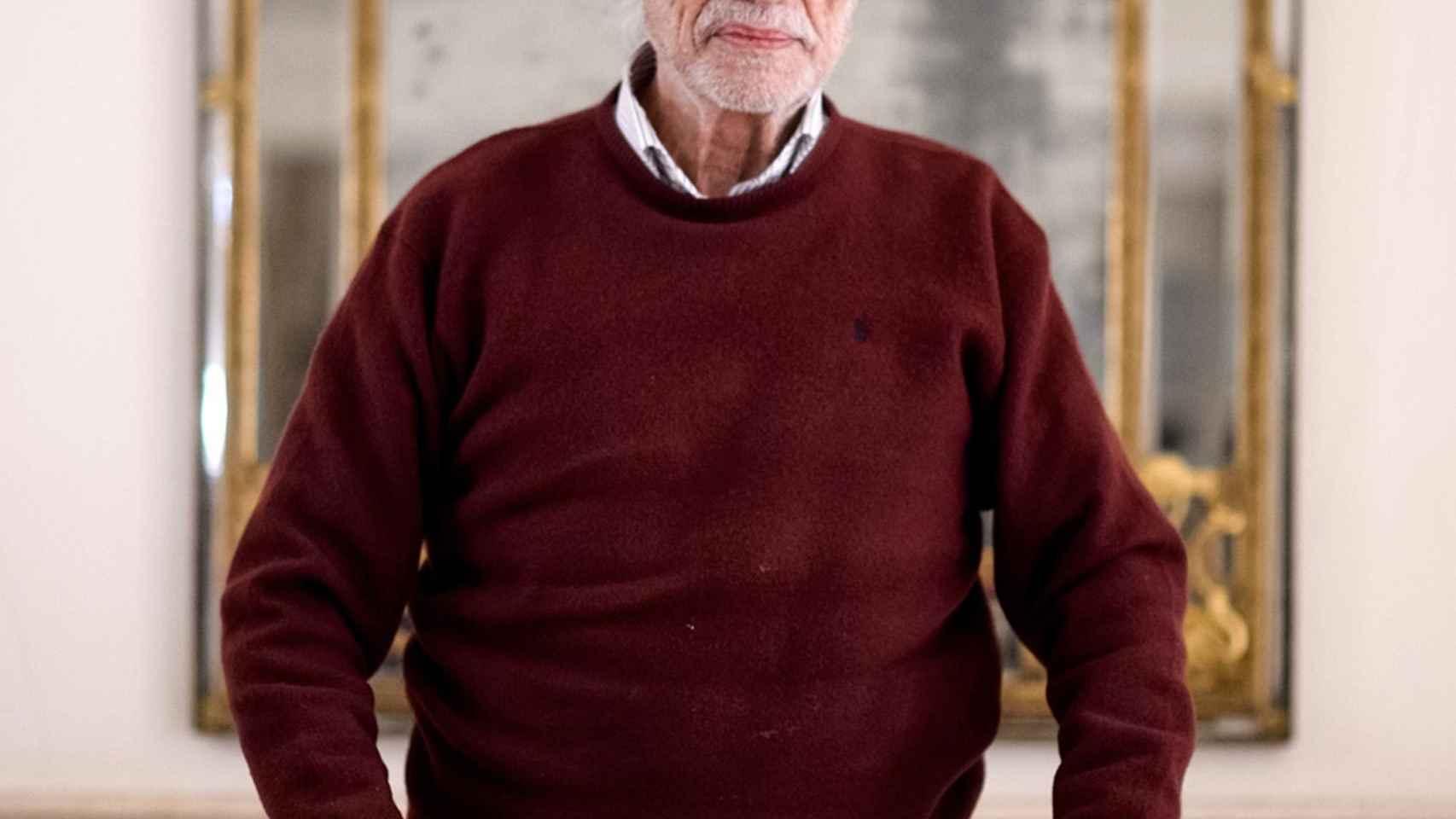 Antonio García-Trevijano durante una entrevista con EL ESPAÑOL.
