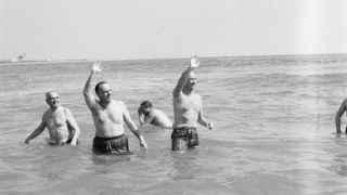 50 años del baño de Palomares