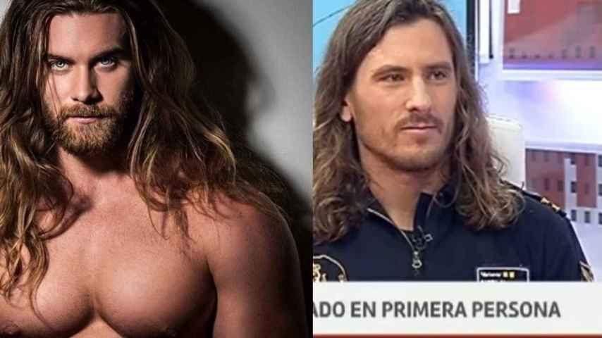 Brock O´Hurn, estrella de Instagram y Manuel García, rescatador en salvamento de Galicia