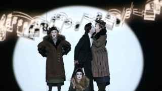 Escena de la ópera 'La flauta mágica'