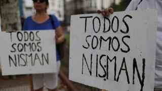Protesta silenciosa celebrada en Buenos Aires tras la muerte de Nisman.