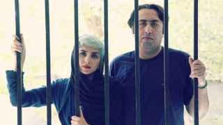 Medhi Mousavi y Fatemeh Ekhtesari, los dos poetas escapados de Irán.