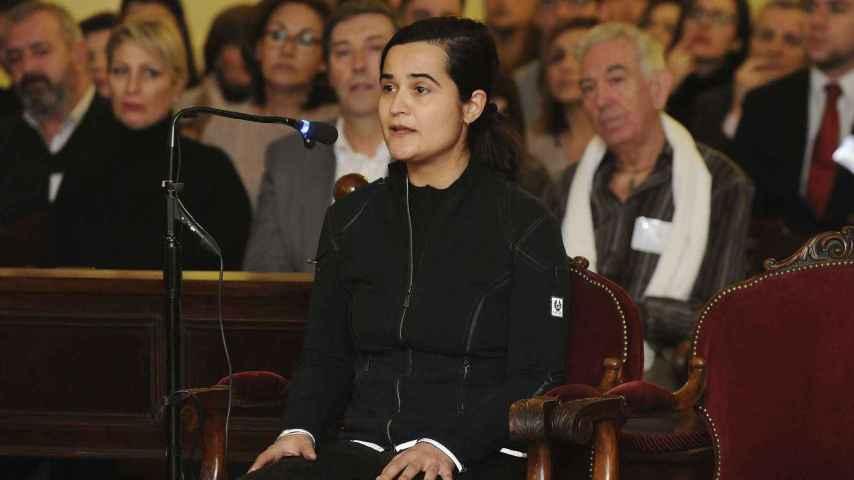 Triana Martinez durante su declaración este miércoles