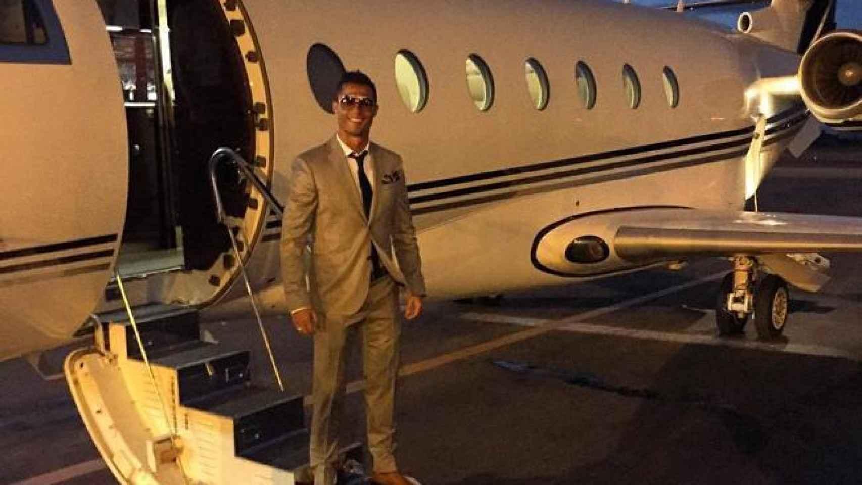 En los planes de vuelo del jet privado del futbolista se registran varios viajes a la semana a Marruecos