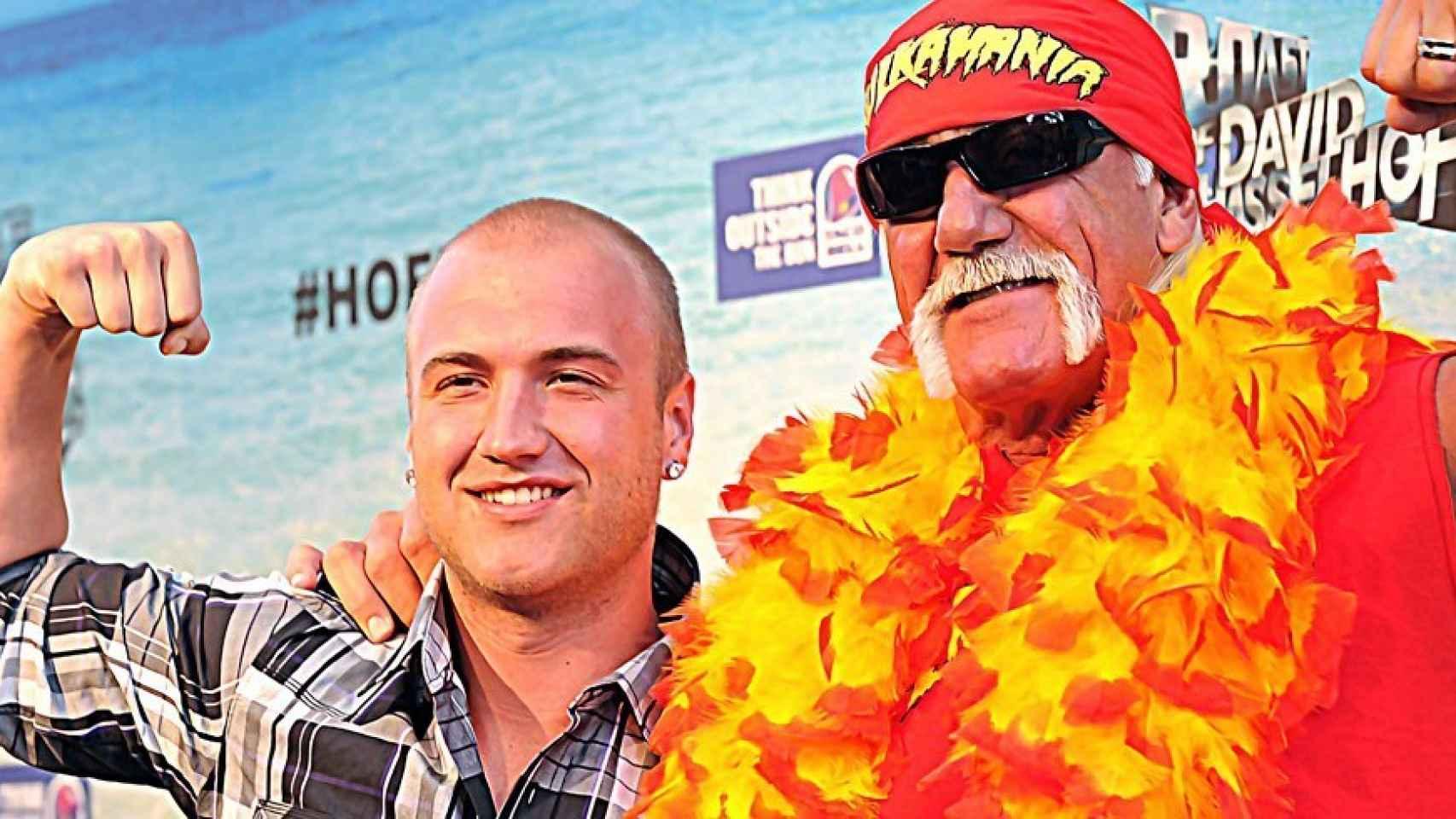 Hulk Hogan y su hijo Nick Bollea
