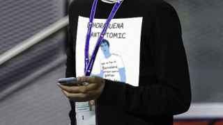 Pablo Lolaso, el doble tuitero del entrenador del Real Madrid.