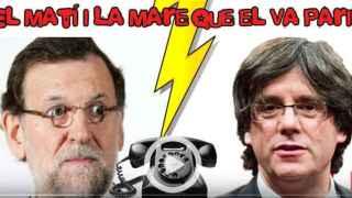 Un imitador se hace pasar por Puigdemont y le saca una reunión a Rajoy