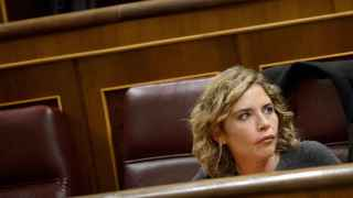 Marta Martín, en el Congreso de los Diputados