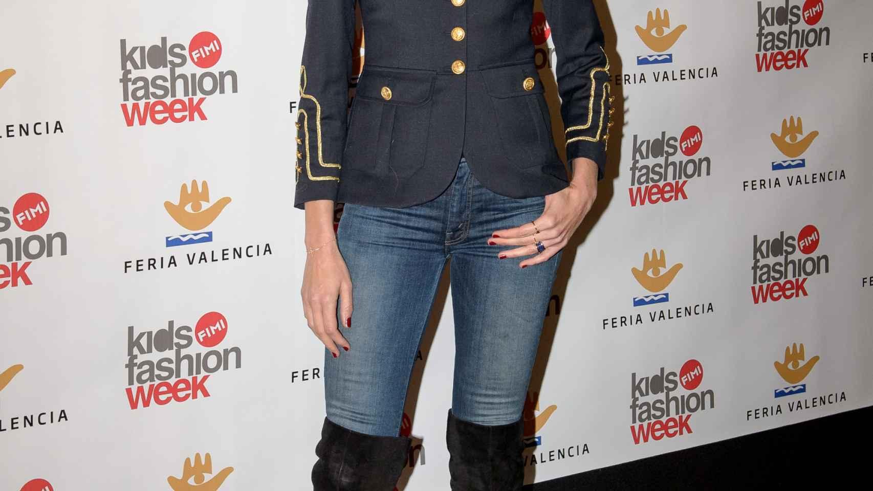 Nieves Álvarez ha tomado buena nota de las tendencias para sus mellizos