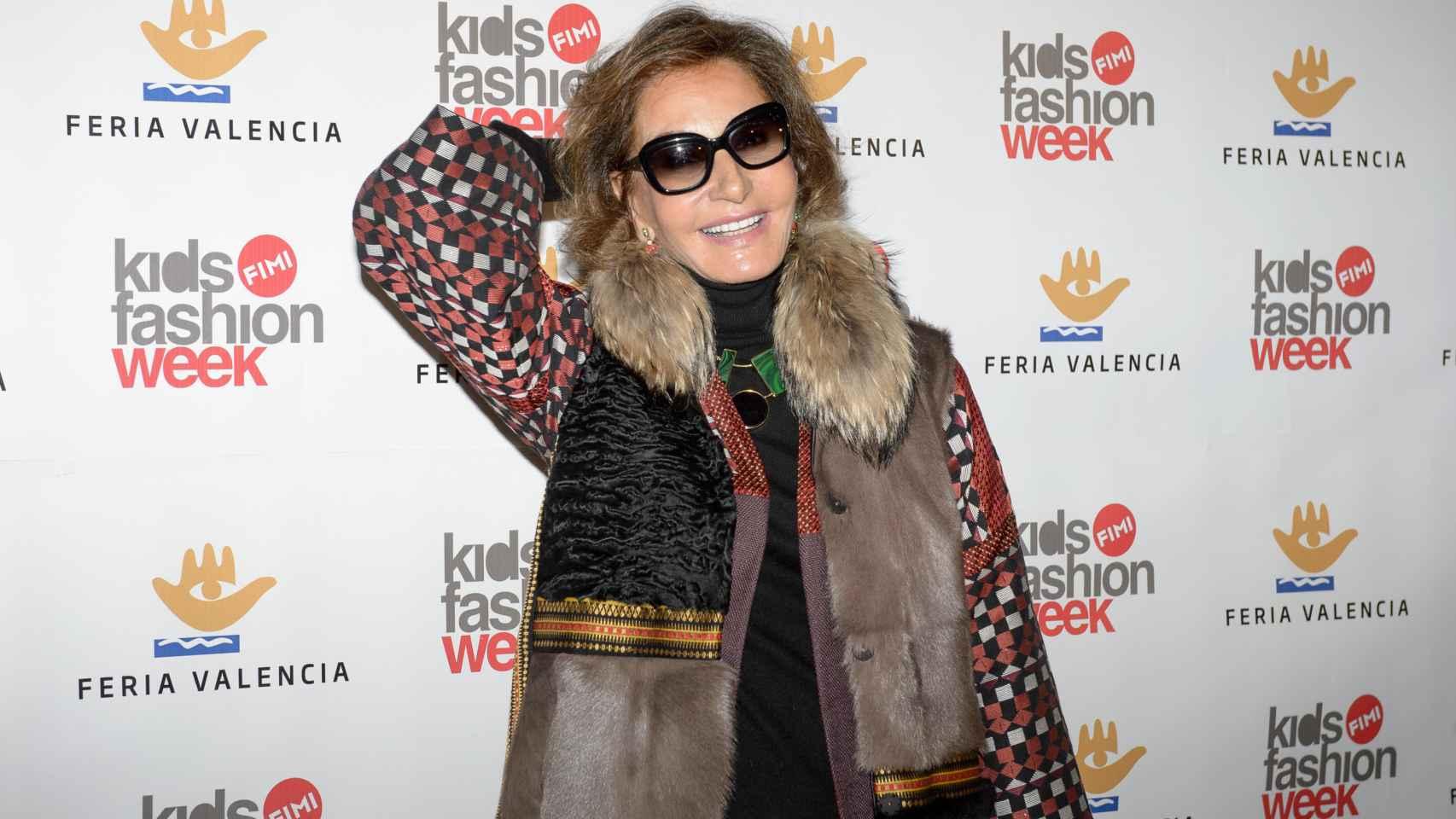 Naty Abascal ha querido apoyar la moda infantil