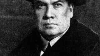 Retrato del poeta nicaragüense Rubén Darío