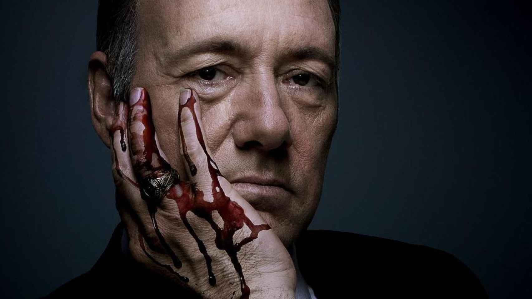 El protagonista de House of Cards, Frank Underwood.