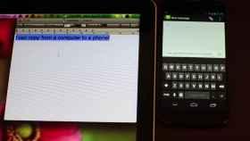 Clipbrd, copia y pega cualquier texto entre dispositivos