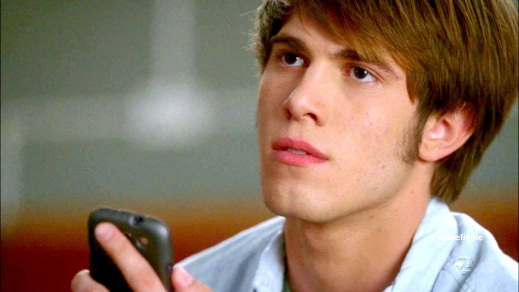 Blake Jenner, en la serie Glee