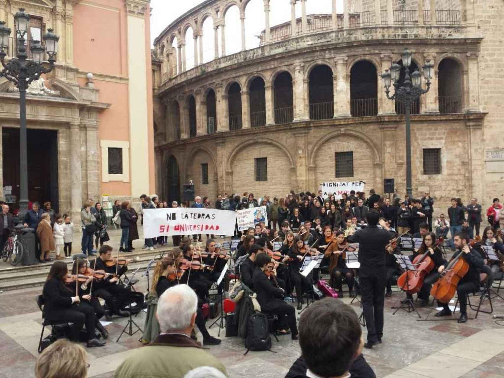 Concierto protesta, sabado 12 de diciembre.