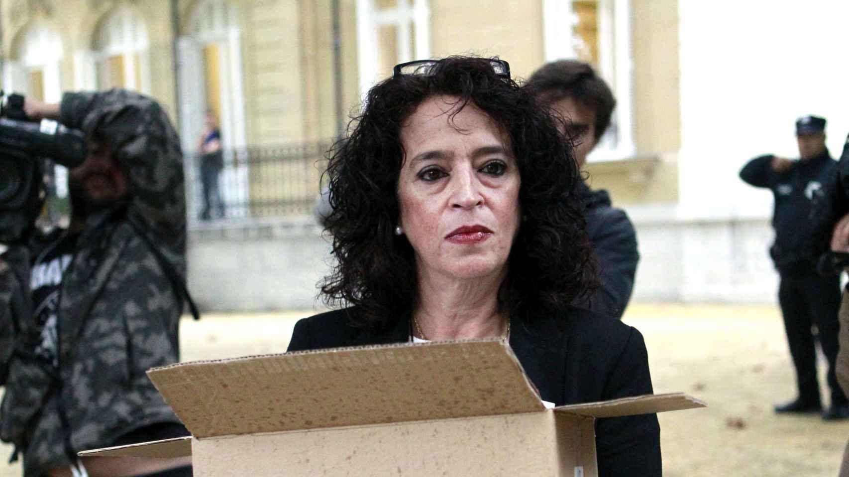 Laura Martín, viuda de Juan Carlos García Goena, última víctima mortal de los GAL.