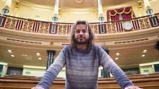 Miguel Vila, en el Congreso de los Diputados
