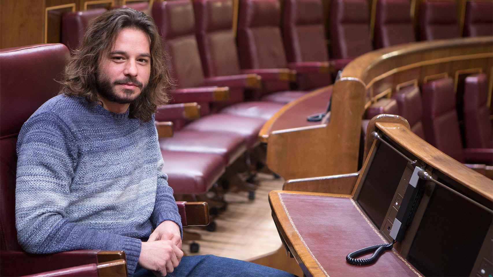 Miguel Vila, diputado de Unidos Podemos.